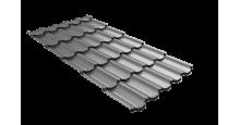 Металлочерепица для крыши Grand Line в цвете RAL 6005 зеленый мох в Серпухове Kvinta plus 3D