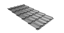 Металлочерепица для крыши Grand Line в цвете RAL 6005 зеленый мох в Серпухове Kvinta plus